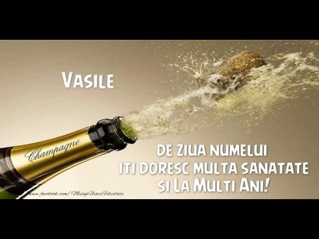 La multi ani, Vasile!