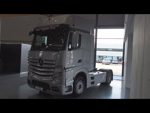 Mercedes-Benz Actros 1851 Style-Line Tractor Truck (2018) Exterior and Interior