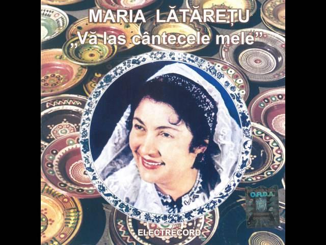 Maria Lătărețu - Lie ciocârlie