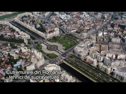 Cutremurele din România - tehnici de supravieţuire