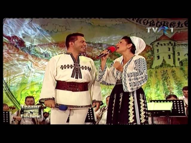 Olguţa Berbec în duet cu Robert Târnăveanu la Tezaur Folcloric - VIDEO