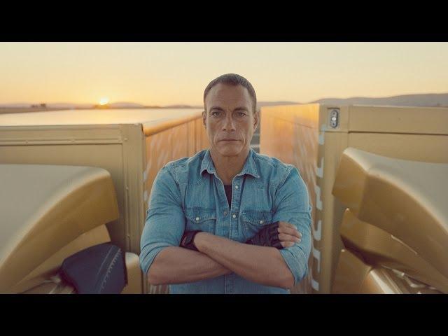 Reclama lui Van-Damme pentru camioanele Volvo