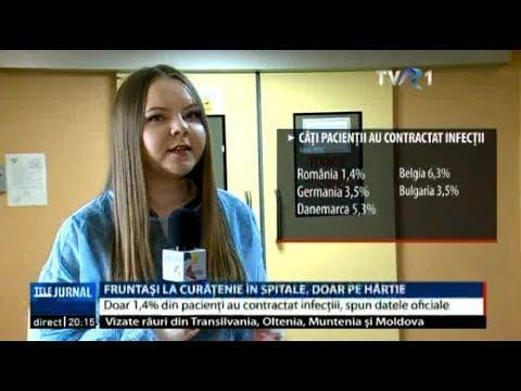 România are cele mai curate spitale din Uniunea Europeană... pe hârtie