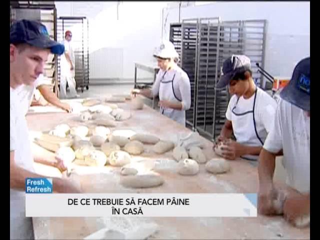 Pâinea din comerț, plină de chimicale. Cum să prepari acasă pâine sănătoasă
