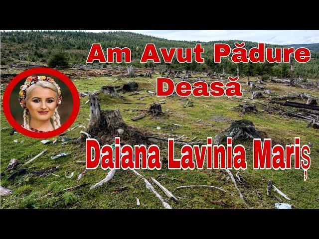 Daiana Lavinia Maris - Am avut pădure deasă