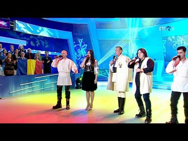 """Paula Seling, Nicolae Furdui Iancu şi K1 - """"Deşteaptă-te, române!"""" şi """"Noi suntem români!"""""""