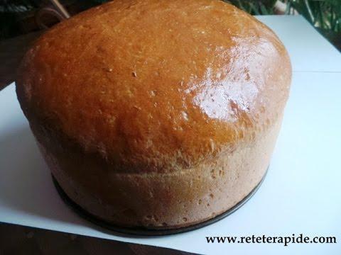 Rețetă culinară: Pâine de casă(video)