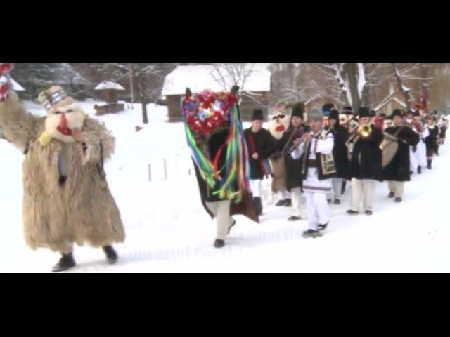 Obiceiuri de anul nou în Bucovina