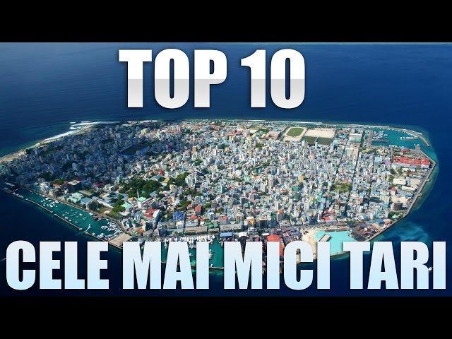 Top 10 cele mai mici ţări din lume
