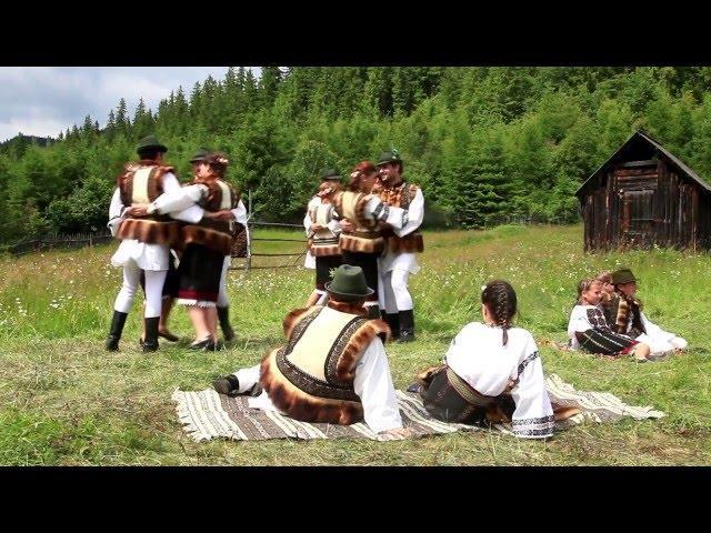 """""""Străjerii Bucovinei"""" din Pojorâta - Suită de jocuri din Bucovina"""