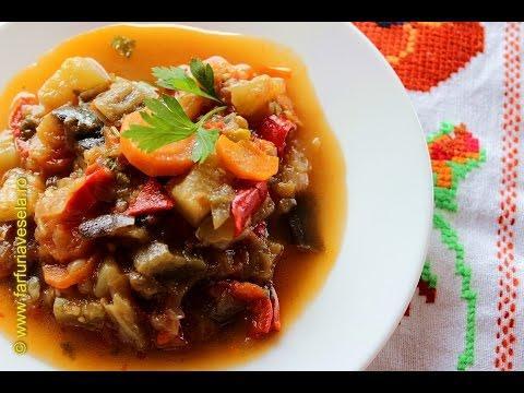 Rețetă ghiveci tomnatic cu legume(video)