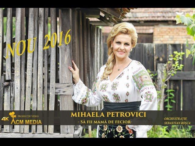 Mihaela Petrovici-Să fii mamă de fecior