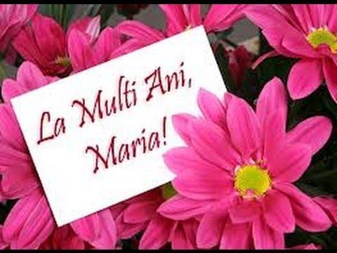 La multi ani de Sf.Maria!