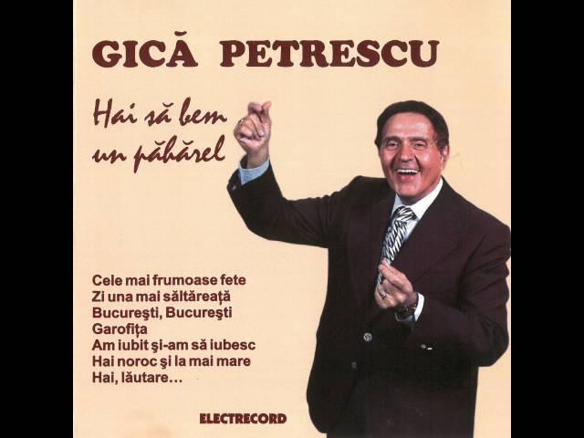 Gică Petrescu - La sfârșit de săptămână