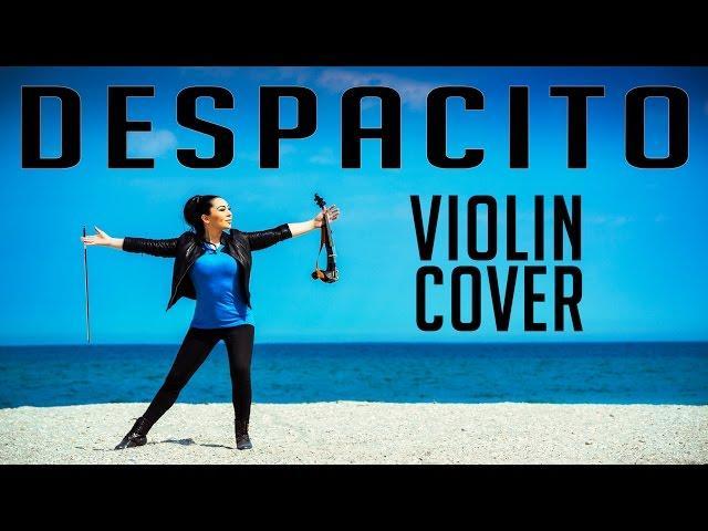 Mândru că sunt ROMÂN! Melodia DESPACITO realizată de violonista Cristina Kiseleff