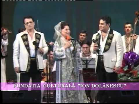 Ion Dolănescu în trio cu Ionuţ Dolănescu şi Maria Ciobanu
