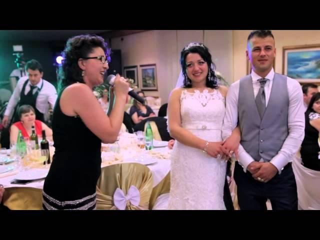 Nuntă Livia și Ionuț - Dedicație specială de la soacra mică
