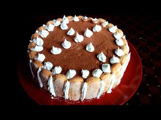 Tort tiramisu in 5 minute