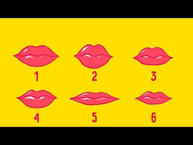 Ce spune forma buzelor despre tine