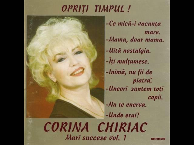Corina Chiriac - Uneori suntem toţi copii