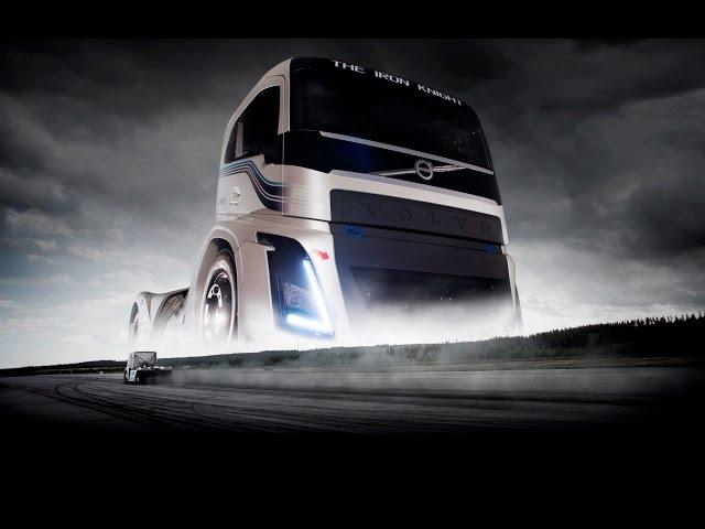 Cel mai rapid autocamion din lume- VOLVO ( The Iron Knight )