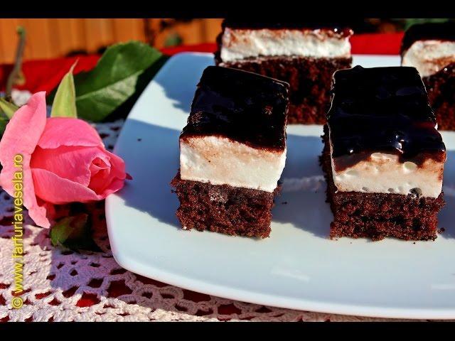 Rețetă desert: Prăjitură Dinte de negru (video)