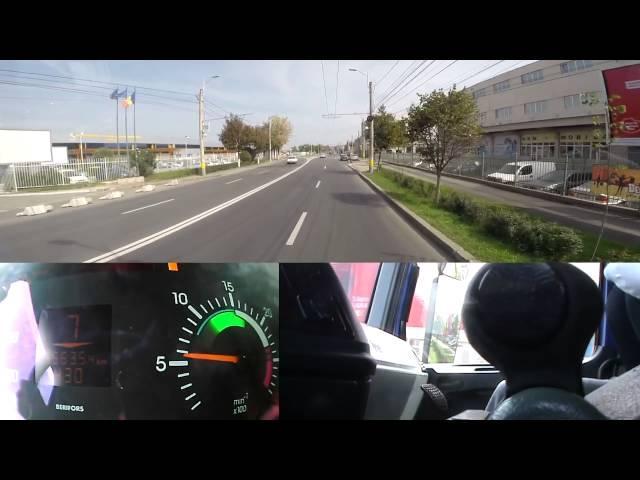 Demonstrație folosire schimbător de viteze și conducere ecologică
