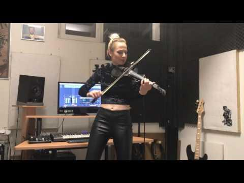 Shape of You - Ed Sheeran | Amadeea Violin Cover | Alex Cooper Remix