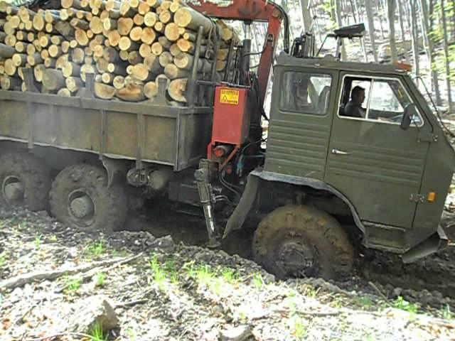 Unul dintre cele mai reușite autocamioane pentru teren