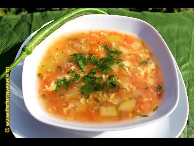 Rețetă ciorbă cu legume și borş proaspăt (video)