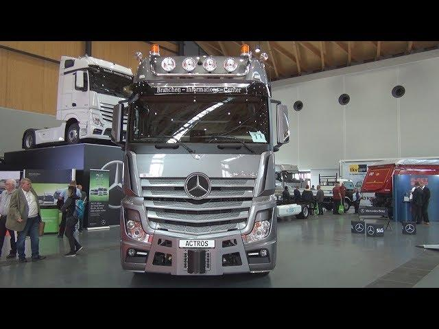 Mercedes-Benz Actros 4163 Tractor Truck (2018) Exterior and Interior