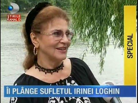 Irina Loghin în parcul Herăstrău