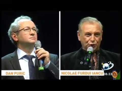 Nicolae Furdui-Iancu și Maestrul Dan Puric - Spectacol București