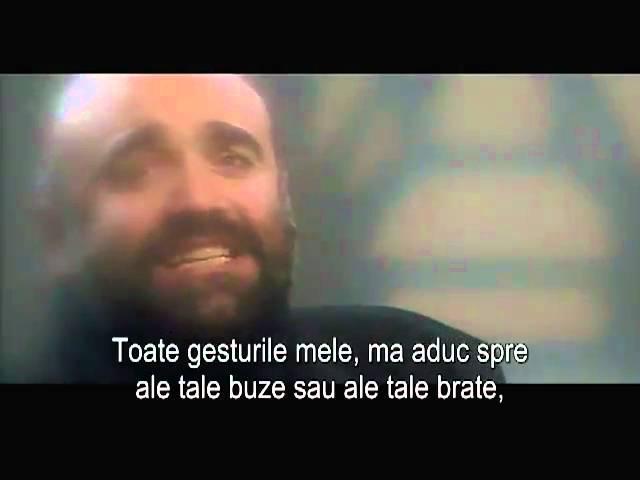 Demis Roussos - Quand je t'aime (subtitrat în limba română)