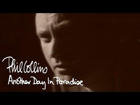 Phil Collins - Another Day In Paradise (Official Music Video)